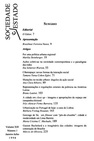 Sociedade e estado PDF