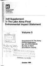 Lake Alma Project, USA Permit Application