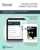 Revel for Technical Communication Today Access Card PDF