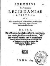 Sereniss. ac potentissimi regis Christianissimi, ..