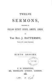 Twelve sermons: Volume 6