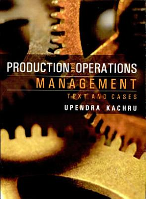 Production   Operations Management PDF