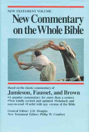 New Commentary on the Whole Bible  New Testament volume PDF
