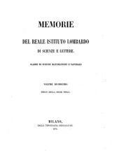 Memorie dell'Istituto lombardo-accademia di scienze e lettere: Classe di scienze matematiche e naturali, Volume 12