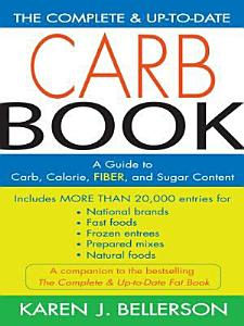 The Complete and Up to Date Carb Book Book