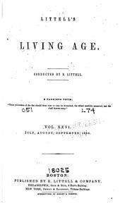 Littell's Living Age: Volume 26
