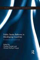 Public Sector Reforms in Developing Countries PDF