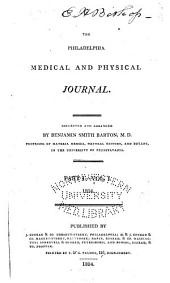 The Philadelphia Medical and Physical Journal: Volume 1