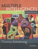 Multiple Intelligences in the Classroom PDF