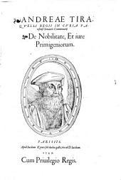 De nobilitate et jure primigeniorum