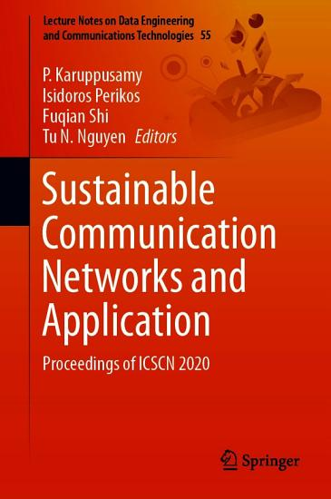 Sustainable Communication Networks and Application PDF