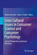 Cross Cultural Issues in Consumer Science and Consumer Psychology PDF