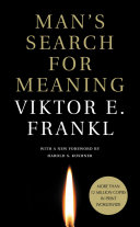 Man s Search for Meaning  International Edition