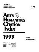 Arts   Humanities Citation Index PDF
