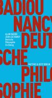 Deutsche Philosophie  Ein Dialog PDF
