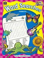 Word Searches, Grades 2-3