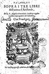 Paraphrasi sopra i tre libri dell'anima d'Aristotile, del R.D. Angelico Buonriccio ..