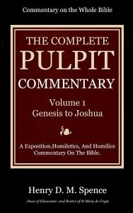The Pulpit Commentary  Volume 1 PDF