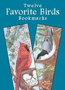 Twelve Favorite Birds Bookmarks
