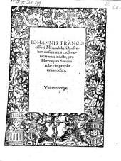 Opusculum de sententia excommunicationis injusta, pro Hieronymi Savonarolae ... innocentia