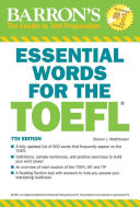 Essential Words for the TOEFL  7th Edition PDF