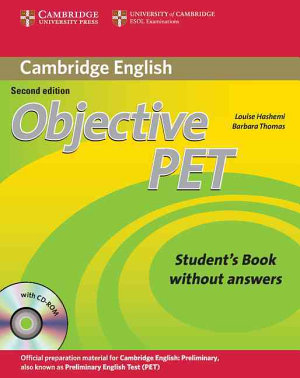 Objective PET Student s Book Without Answers with CD ROM PDF