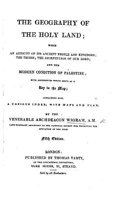 The Geography of the Holy Land     Second edition PDF