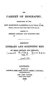 Eminent Literary and Scientific Men of Great Britain and Ireland: St. Columba. Alfred the Great. Chaucer. John Heywood. Spenser