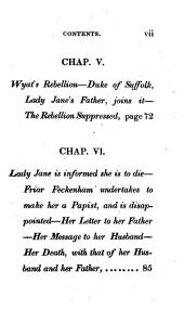 Life of Lady Jane Grey, and of Lord Guildford Dudley, Her Husband...