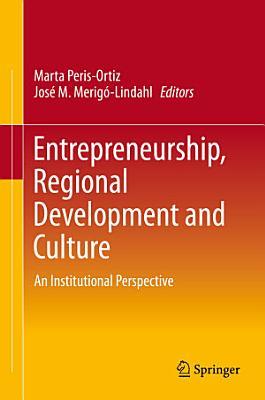Entrepreneurship  Regional Development and Culture
