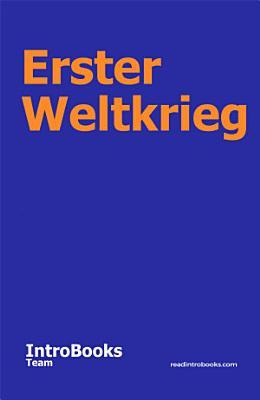 Erster Weltkrieg PDF