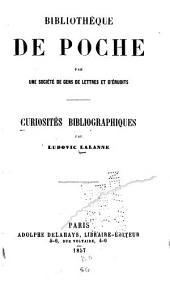 Curiosités bibliographiques