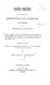Escuela práctica para el servicio de la infantería en campaña en el Ejército de la República Argentina