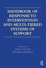 Handbook of Response to Intervention and Multi Tiered Systems of Support PDF