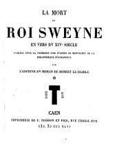 La Mort du roi Sweyne: en vers du XIVe siècle