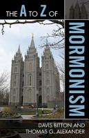 The A to Z of Mormonism PDF