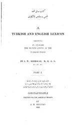 A Turkish and English Lexicon PDF