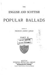 The English and Scottish Popular Ballads: Part 2