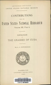 Catalogue of the grasses of Cuba