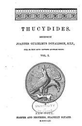 Thucydides: Volume 1