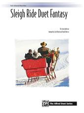 Sleigh Ride Duet Fantasy: For Advanced Piano Duet (1 Piano, 4 Hands)