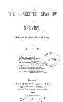 The conceited sparrow of Neemuch  by A P F  PDF
