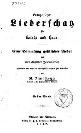 Evangelischer liederschatz f  r kirche und haus PDF