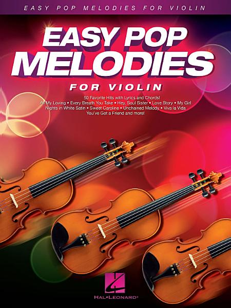 Download Easy Pop Melodies for Violin Book