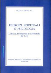 Esercizi spirituali e psicologia: l'altezza, la larghezza e la profondità (Ef 3,18)