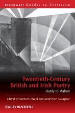 Twentieth-Century British and Irish Poetry
