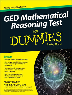 GED Mathematical Reasoning For Dummies PDF