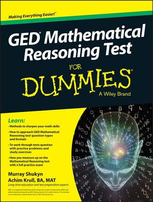 GED Mathematical Reasoning For Dummies PDF