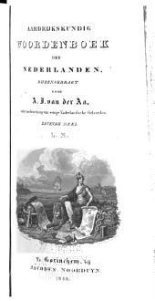 Aardrijkskundig woordenboek der Nederlanden: Volume 7