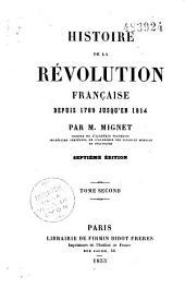 Histoire de la Révolution française depuis 1789 jusqu'en 1814